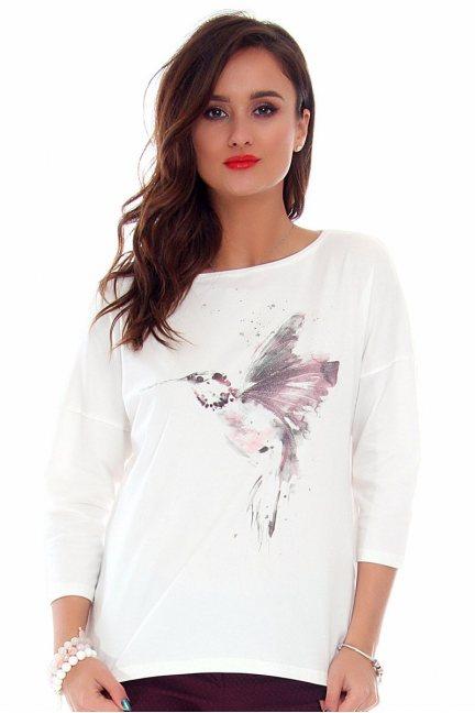 Bluzka damska koliber CMK712 biała