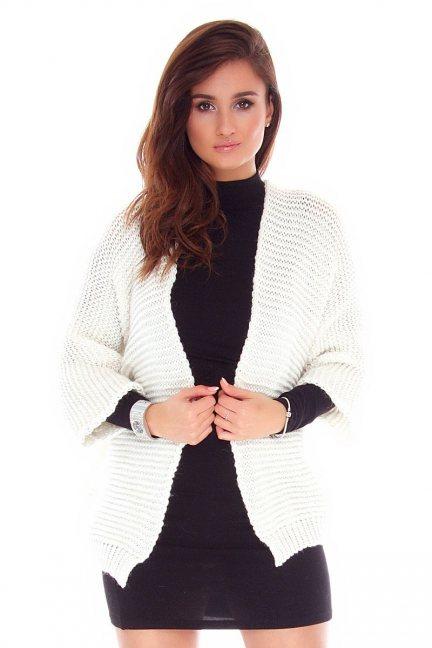 Kardigan sweter blezer CMK2029 ecru