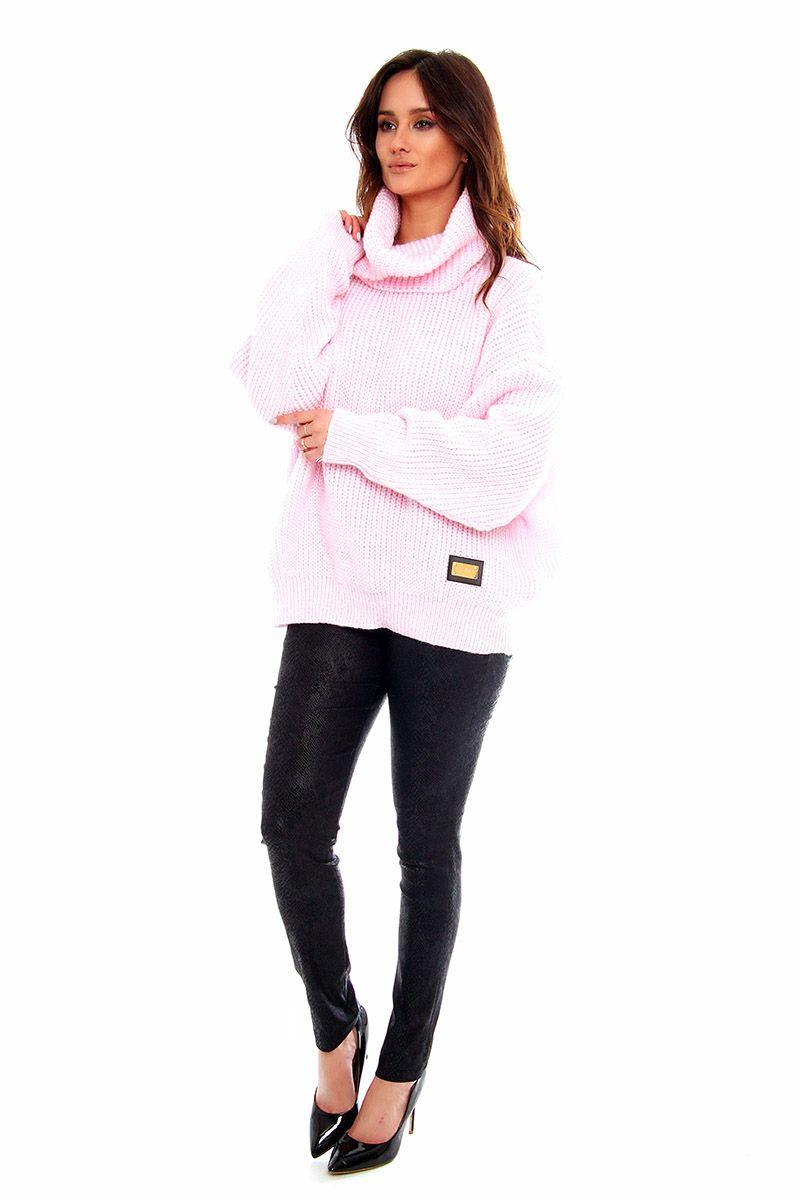 1240dfcb2ce0ed ... Sweter ciepły na jesień; Sweter modny online; Modne swetry damskie w  sklepie online CosmosModa