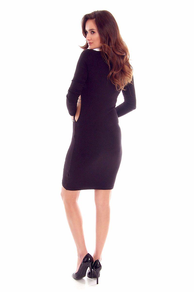 0709188b47 Sukienka wycięte boki CMK815 czarna  Sukienka damska modna  Sukienka  elegancka czarna  Sukienka damska czarna online  Modne sukienki wizytowe  online sklep ...