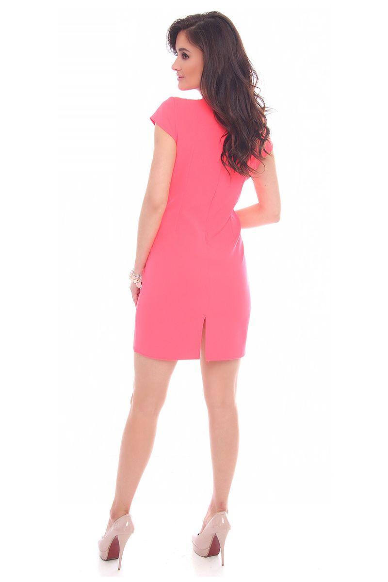 873f78f8e1 ... Sukienka modna z rozcięciem  Modne sukienki wizytowe w sklepie online  CosmosModa
