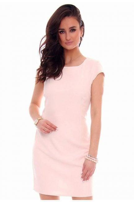 Sukienka ołówkowa mini różowa