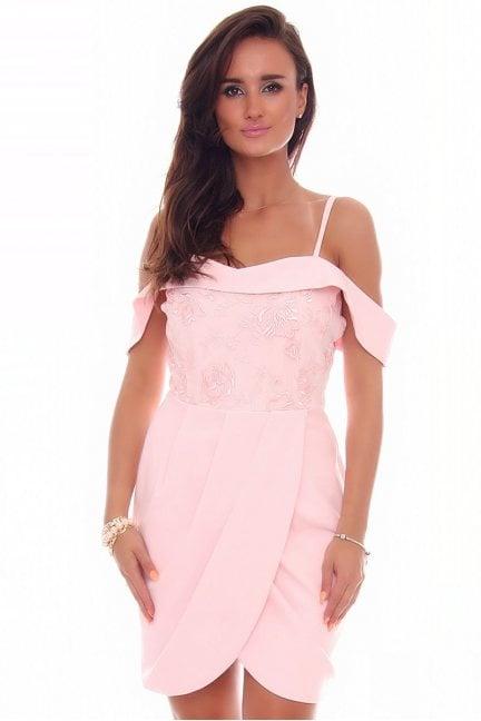Sukienka modna z torebką
