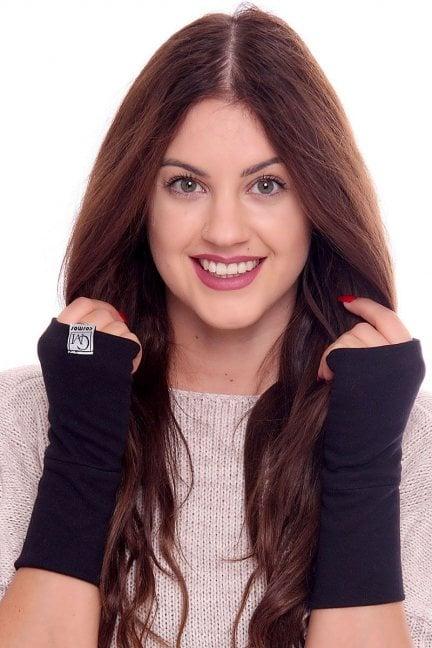 Rękawiczki bawełna Carpuski CMR02 czarne