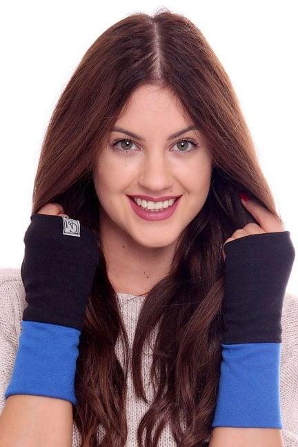 Rękawiczki bawełna Carpuski CMR03 chabrowe