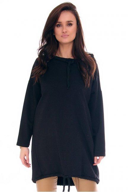 Bluza damska oversize CMK27 czarna