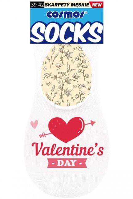 Stopki męskie skarpetki Valentine's DAY