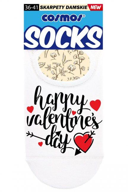 Stopki bawełniane Happy Valentine's Day