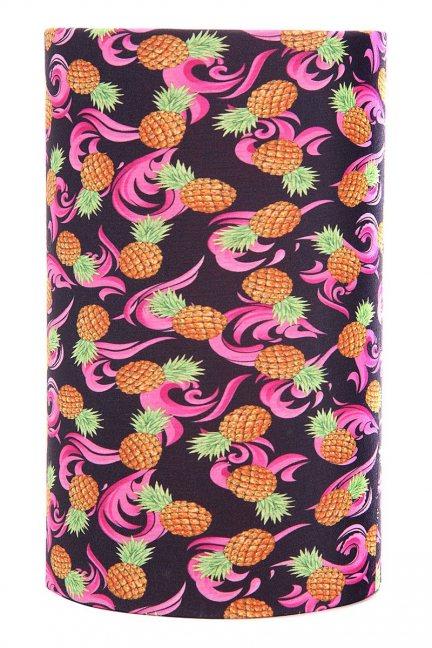 Chusta damska tuba wzór ananasy