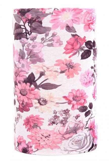 Chusta wielofunkcyjna nadruk Pink Roses