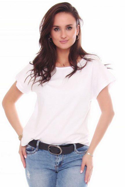 T-shirt damski koszulka krótki rękaw biały