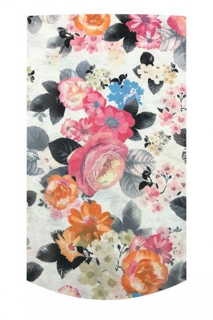 Komin wielofunkcyjny Pink Flowers
