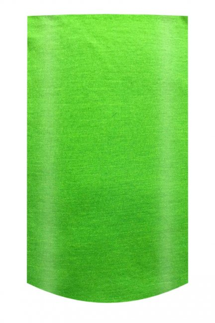 Chusta wielofunkcyjna gładka neon zielony