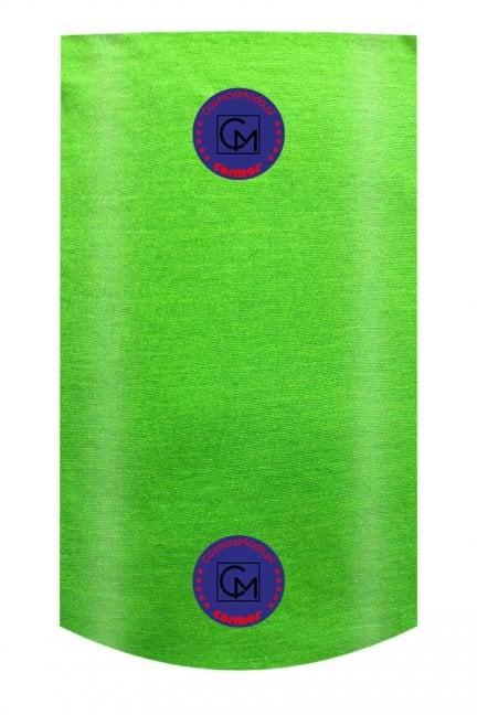 Komin cienki z nadrukiem neon zielony