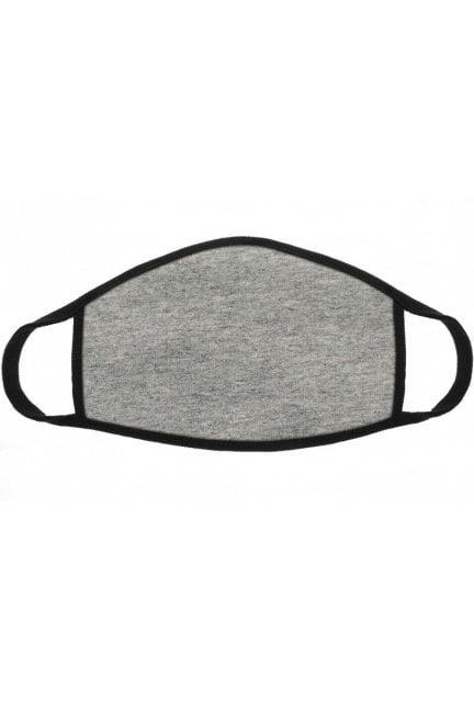 Maska dziecięca filtr jony srebra szara