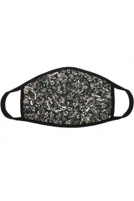 Maska wielorazowa filtr jony srebra szara