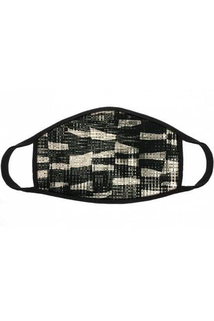 Maska sportowa filtr z jonami srebra szara