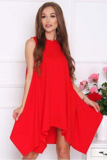 Sukienka koktajlowa VENUS czerwona