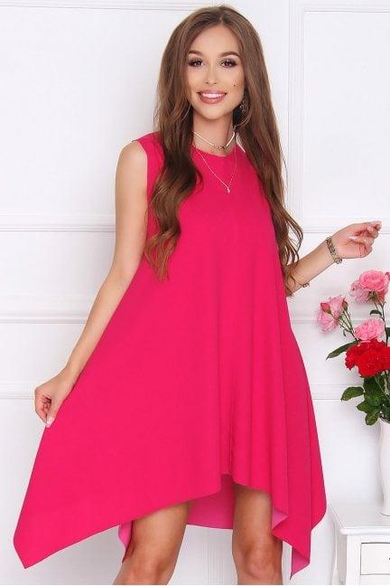 Sukienka koktajlowa VENUS różowa