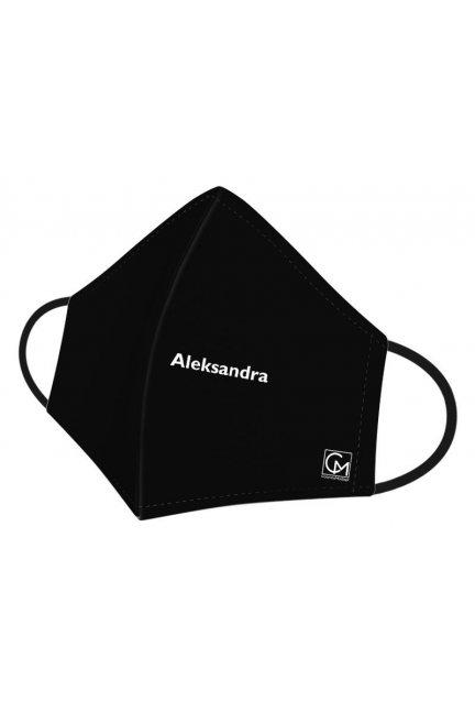 Maska profilowana Aleksandra czarna