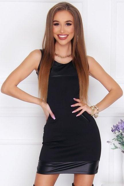 Sukienka elegancka Agnieszka czarna