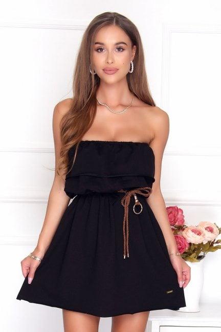 Sukienka hiszpanka mini czarna