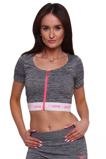 Bluzka sportowa fitness CMK7505 szara