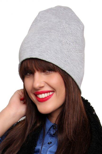 Ciepła czapka z gwiazdą