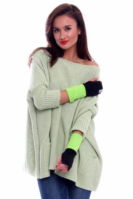 Rękawiczki bawełna Carpuski CMR03 zielone