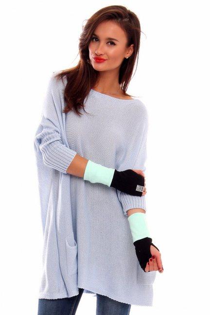 Rękawiczki bawełna Carpuski CMR03 miętowe