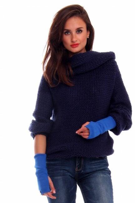 Rękawiczki bawełna Carpuski CMR02 chabrowe