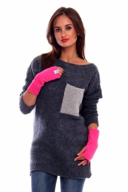 Rękawiczki bawełna Carpuski CMR02 fuksja