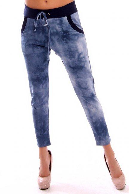 Spodnie dresowe marmurek