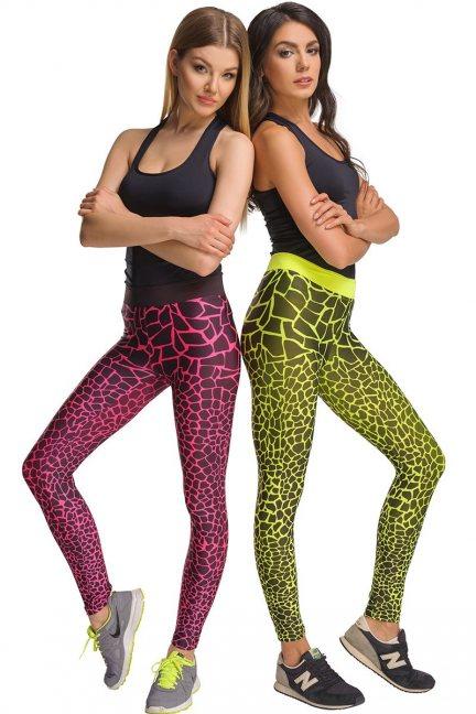 Spodnie sportowe CMK431 różowe
