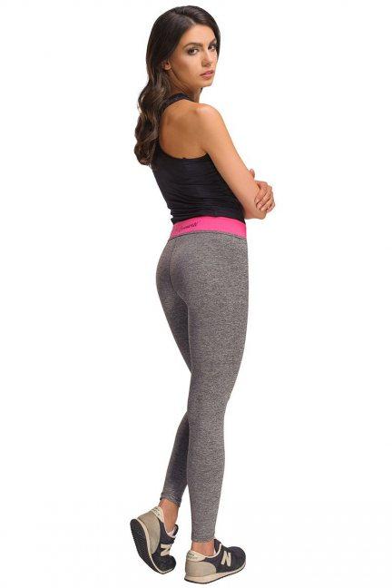 Spodnie sportowe legginsy CMK454 szare
