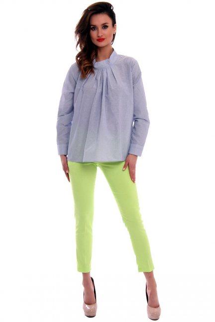 Spodnie z kieszeniami CMK538 limonkowe