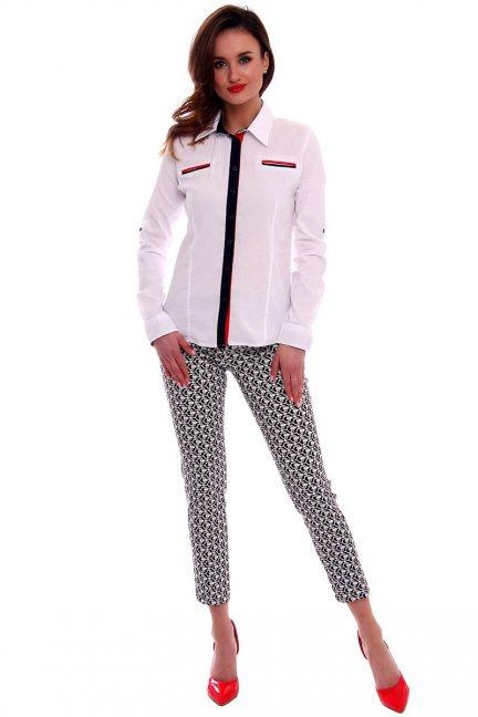 Spodnie we wzory CMK550 czarne