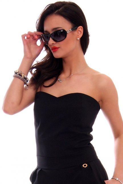 Okulary damskie stylowe CMO33 czarne