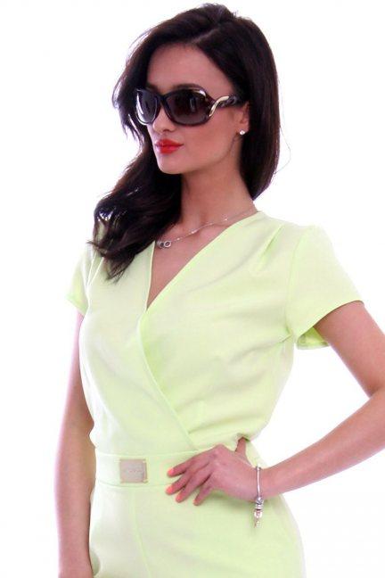 Okulary damskie panterka CMO42 brązowe