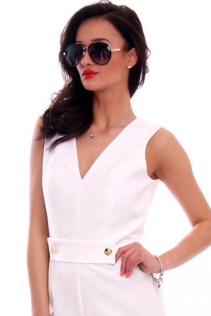 Okulary damskie modne CMO46 czarne
